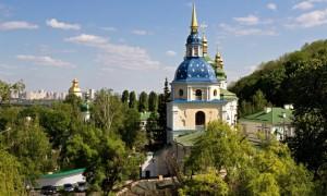 Выдубицкий монастырь в Киеве, Украина