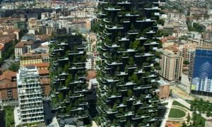 Небоскрёб Боско Вертикале в Милане