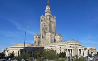 Дворец культуры и науки — первый небоскреб Варшавы