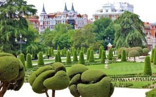 Парк Буэн Ретиро в Мадриде
