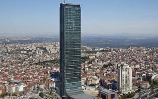 Обзор небоскреба Сапфир в Стамбуле