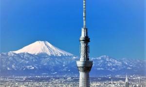Телевизионная башня Tokyo Skytree в Токио