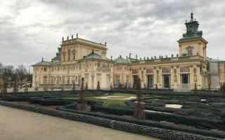 Дворец Вилянув (Wilanów) в Варшаве I часть