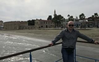 Ларнака в феврале. Южный Кипр.
