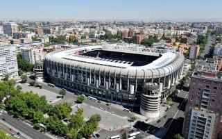 Стадион СантьягоБернабеув Мадриде