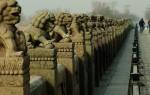 Мост Марко Поло в Пекине