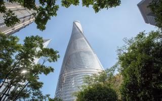 «Закрученная» Башня в Шанхае