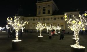 Дворец Вилянув. Предрождественский королевский парк