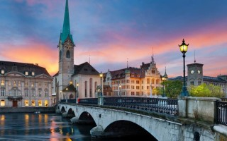 Вехи развития Цюриха на фотографиях