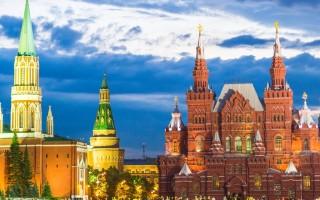 Обзор Красной площади в Москве