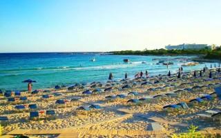 Отдых с детьми зимой. Пляжи Кипра: Айя-Напа, Ланда-Бич, Фамагуста Лонг-Бич