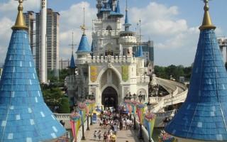 Обзор парка развлечений Сеула — Лотте Ворлд (Lotte World)