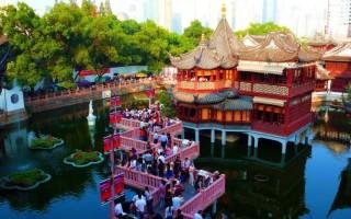 Сад Юй-Юань — «Сад Радости» в Шанхае