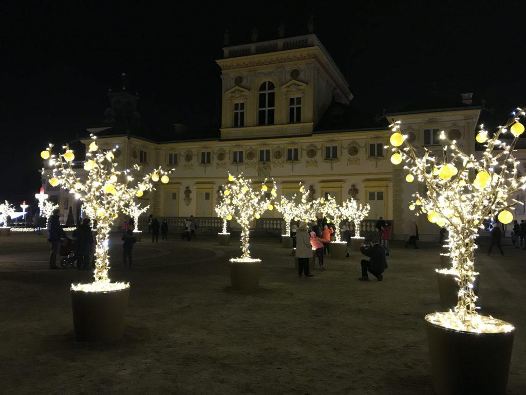 Рожлественский дворец Вилянув