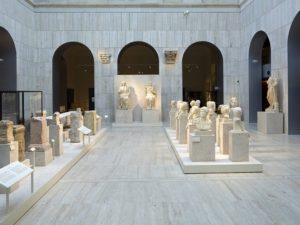 Коллекция археологических экспонатов