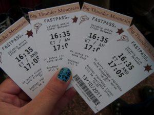 Билеты на аттракционы