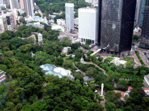 Парк на острове Гонконг