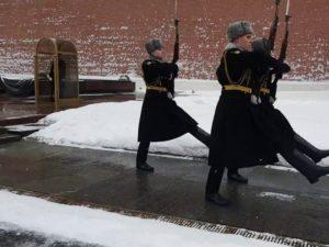 Караул на Красной площади