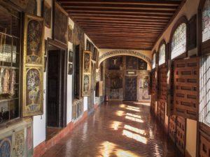 Коллекция в монастыре Дескальсас