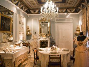 Выставка предметов эпохи романтизма