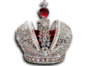 Рубиновая шпинель в короне