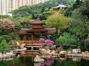Сад Нан Лиан на холме