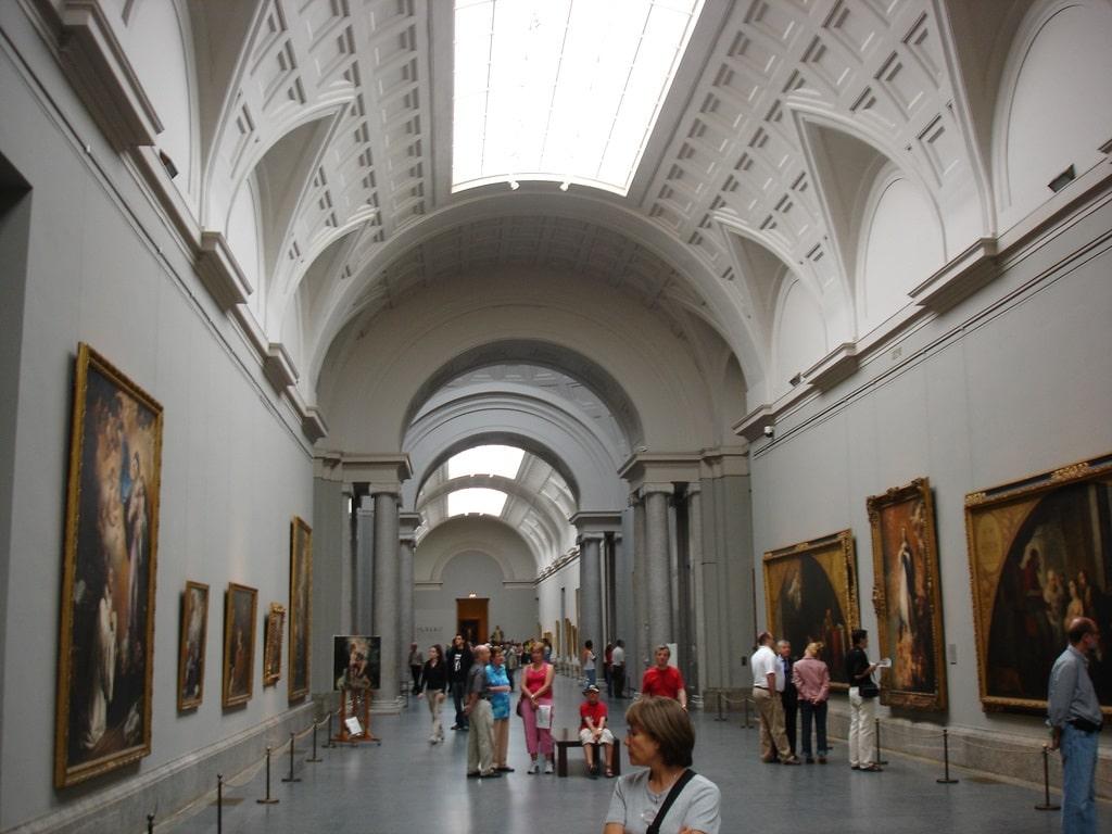 Выставочный зал Прадо