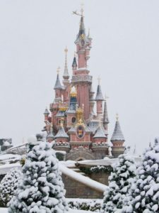 Посещение зимой