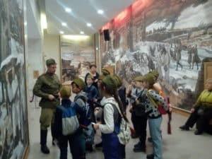 Экскурсия школьников