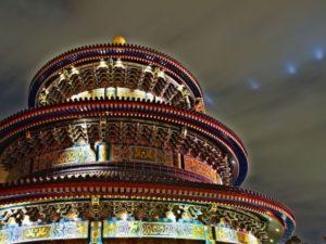 Храм воплощает мировоззрение китайцев о гармонии