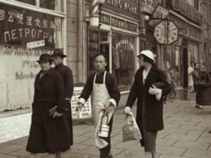 Русская община начала собираться в Шанхае в 19 веке