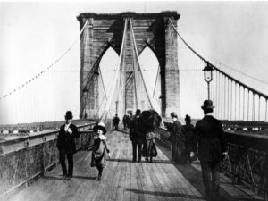 Вместе с супругой Джона Роблинга по мосту прошелся президент США