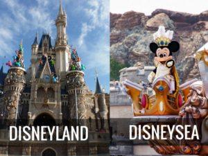 Диснейленд и Disney Sea