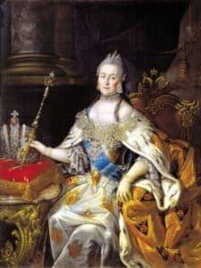 Екатерина II со скипетром