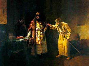 Иван Грозный и Василий Блаженный