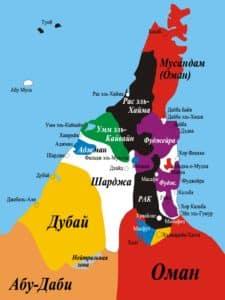 Эксклавы ОАЭ и Омана