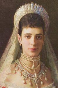Мария Федоровна в диадеме