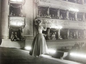 Мария Каллас на сцене