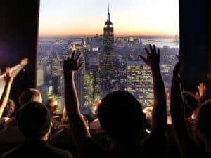 Туристический аттракцион «New York Skyride»