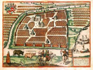 План Московии XVI века