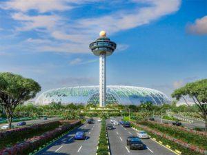 Аэропорт Чанги один из крупнейших в мире