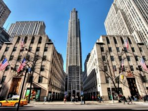Сердце центра – здание General Electric Building – небоскреб высотой 259 метров