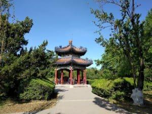 Беседка в парке Храма Неба