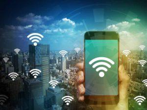 Бесплатный Wi-Fi доступен везде – в отелях, парковых зонах, кафе любого класса
