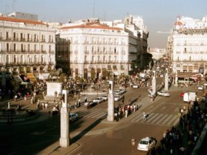 Площадь Пуэрта-де-Соль