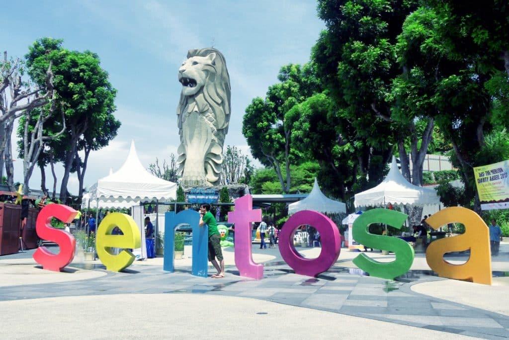 Остров Сентоза в Сингапуре - что посмотреть фото описание карта