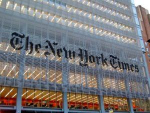 Главный офис газеты «Нью-Йорк Таймс»