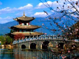 традиционные постройки императорского Китая