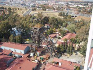 Парк, открытый на месте заброшенных шахт