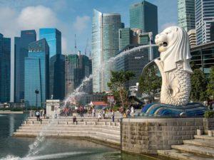 Мерлайон – символ Сингапура